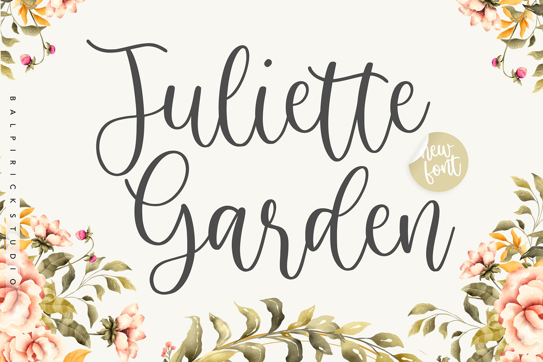 Juliette Garden Free Font