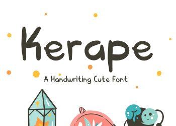 Kerape Free Font