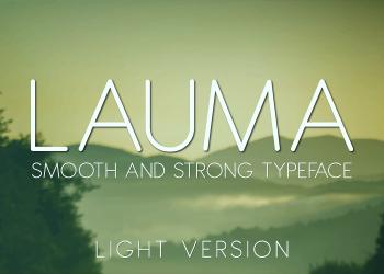 Lauma Light Free Font