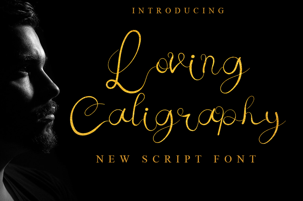 Loving Caligraphy Free Font