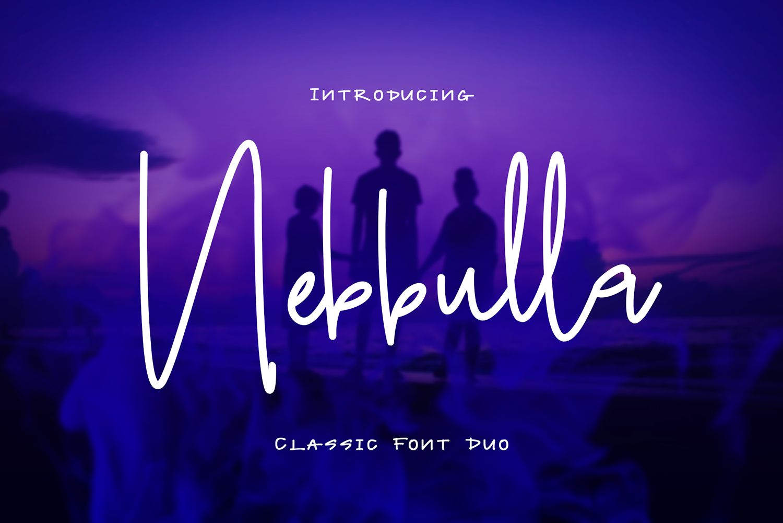 Nebbulla Free Font Duo