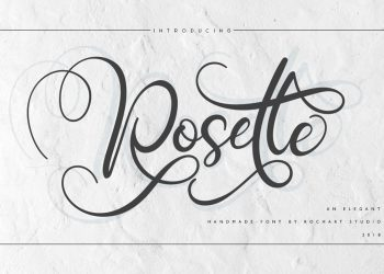Rosette Free Font
