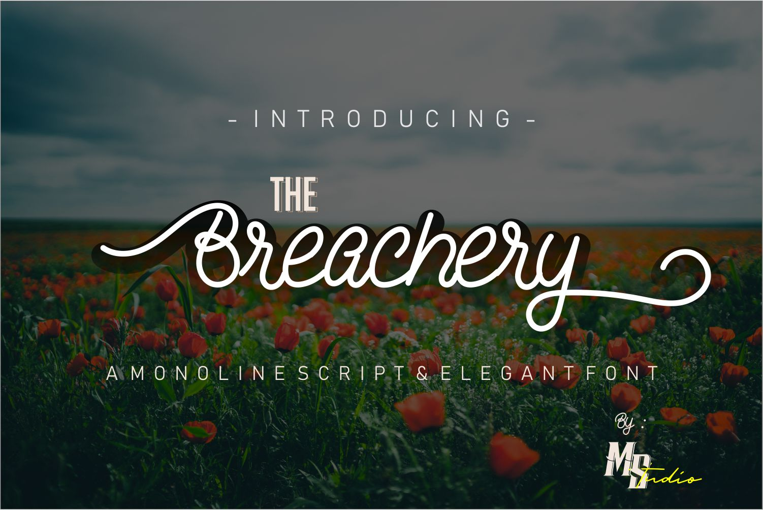 The Breachery Free Font